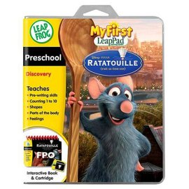 LeapFrog My First LeapPad Ratatouille Software - Preschool