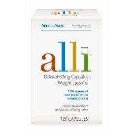 Alli Weight Loss Aid Orlistat 60mg Capsules 120 Count Refill Pack Compare Prices Set Price Alerts And Save With Gosale Com
