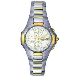 Seiko #SNA410 Coutura Alarm Chronograph Watch