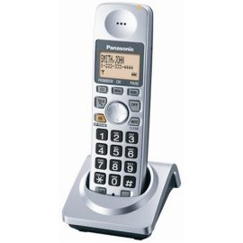 Panasonic KX-TGA101S Dect 6.0 Cordless Telephone Additional Handset - Silver