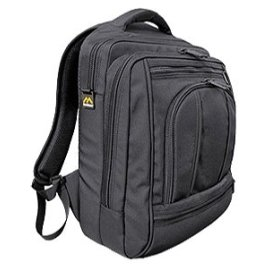 Brenthaven Pro 15-17 Backpack for MacBook Pro and Powerbook 15-17 - Black Exterior