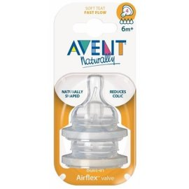 Avent Fast Flow Silicone Nipple 121