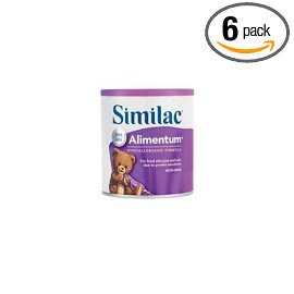 Similac Alimentum Hypoallergenic with Iron, Powder, Case of 6 Cans- each 1 lb (454 g)