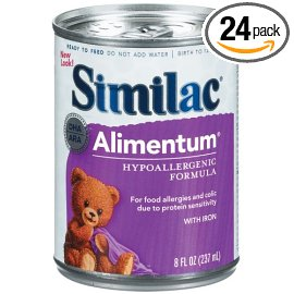 Similac Alimentum Advance Protein Hypoallergenic Formula with Iron, Ready-to-Feed, Case of 24 Cans- each 8 Ounces