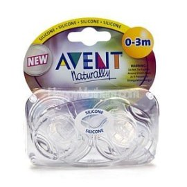 Translucent Clear Newborn Pacifier 0 - 3 Months