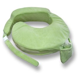 My Brest Friend Light Green Deluxe Pillow
