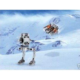 Lego Star Wars Mini AT-ST & Snowspeeder