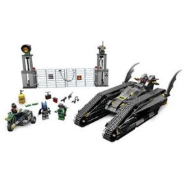 The Bat Tank The Riddler and Bane's Hideout