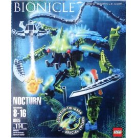Lego Bionicle 8935 Nocturn Special Edition Glows in the Dark