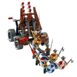 LEGO® VIKINGS Army of Vikings with Heavy Artillery Wagon (7020)