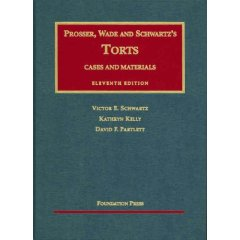Cases and Materials on Torts, 11th Edition (University Casebook Series)