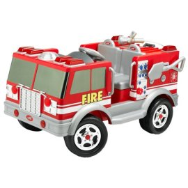 Kid Trax Red Fire Engine Electric Ride-On