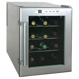 Sunpentown Thermo Electric 12-Bottle Wine and Beverage Chiller