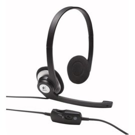 Logitech Clearchat Stereo Headset - black