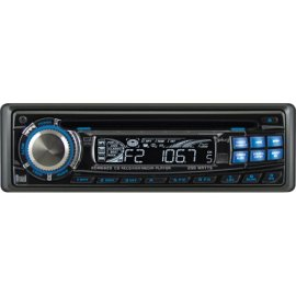 Dual XDM6820 In-Dash CD/MP3/WMA Receiver - Black