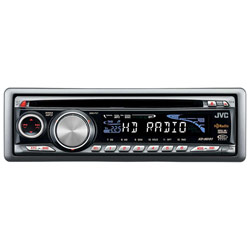 JVC KD-HDR1 CD Player Receiver with Built-In HD Radio Tuner