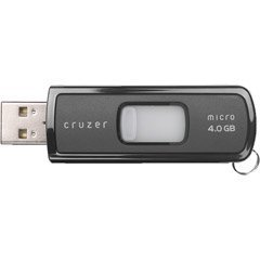 SanDisk 4 GB Cruzer Micro USB Flash Drive with U3