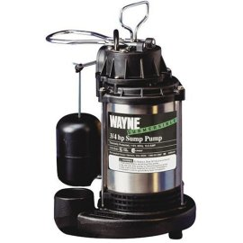 Wayne 3/4 HP Submersible Sump Pump #CDU980