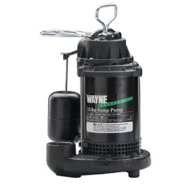 Wayne 1/2 HP Cast Iron Submersible Sump Pump #CDU800