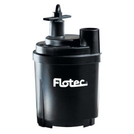 Flotec Tempest 1/6 HP 1,500 GPH Utility Submersible Pump #FP0S1300X-03