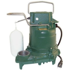 Zoeller M-53 Mighty-Mate Submersible Sump Pump 1/3 HP M53