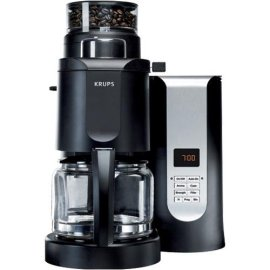 Krups KM7000 Grind-and-Brew 10-Cup Coffee Maker