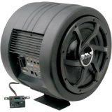 Boss Audio BASS800 10-Inch Amplified Subwoofer with Passive Radiator