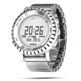 Suunto Core Wrist-Top Computer Watch with Altimeter, Barometer, Compass, and Depth Measurement (Stainless Steel)