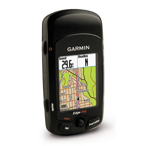 Garmin Edge 705 Bundle Cycling GPS (Heart Rate, Speed/Cadence & Data Card with Street Maps)