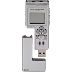 Olympus WS-311M Digital Voice Recorder & Mass Storage Device with Music Playback