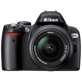 Nikon D40x 10.2MP Digital SLR Camera with 18-55mm f/3.5-5.6G ED II AF-S DX Zoom-Nikkor Lens
