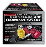 Q Industries MV50 SuperFlow Hi-Volume Air Compressor - Red