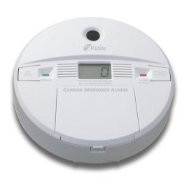Kidde Battery-Operated Carbon Monoxide Alarm with Digital Display #900-0146