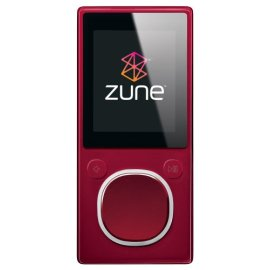 Zune 4 GB Digital Media Player (Red)