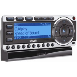 Sirius ST4-TK1 Starmate 4 Satellite Radio Receiver with Car Kit