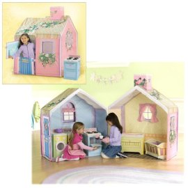 Playskool Rose Petal Cottage Playhouse (Dream Town Collection)