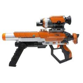 Jakks - Laser Challenge P.R.O. Deluxe Blaster 2-Player: 2 Blasters, 2 Scopes & 2 Barrel Extensions
