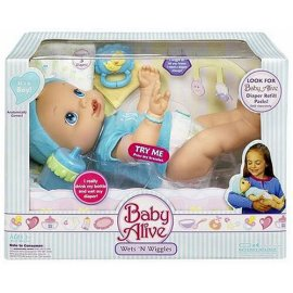 Hasbro Baby Alive Wets & Wiggles Boy Doll