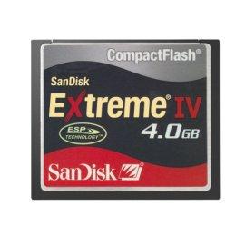 SanDisk 4 GB Extreme IV CompactFlash Card