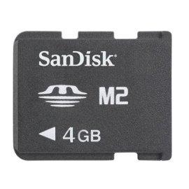 SanDisk 4GB Memory Stick Micro M2 (SDMSM2-4096-A11M)