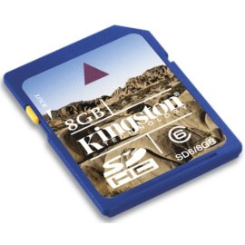 Kingston 8GB Secure Digital Memory Card