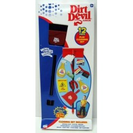 Dirt Devil Junior ~ 12 Piece Play Cleaning Set