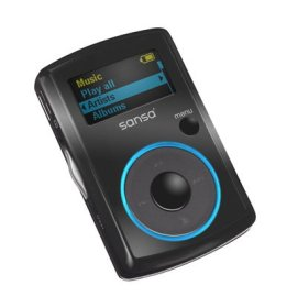 SanDisk Sansa Clip 1GB MP3 Player (Black)