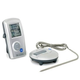 Oregon Scientific AW129 Wireless BBQ Thermometer with Probe Thermometer and Remote