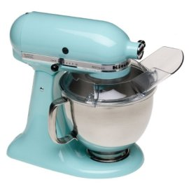 KitchenAid KSM150PSIC Artisan Series 5-Quart Mixer (Ice Blue)