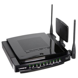 Linksys WRT600N Ultra RangePlus Dual-Band Wireless-N Gigabit Router with Storage Link