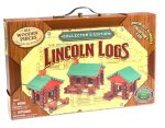 K'nex Collector's Edition Lincoln Logs w/ Wooden Case