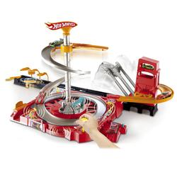 Mattel Hot Wheels Flip N Go Spin City Playset