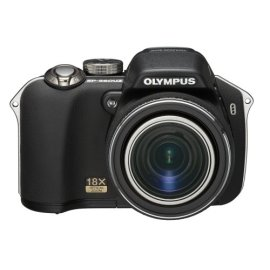 Olympus SP-560UZ 8MP Digital Camera with Dual Image Stabilized 18x Optical Zoom