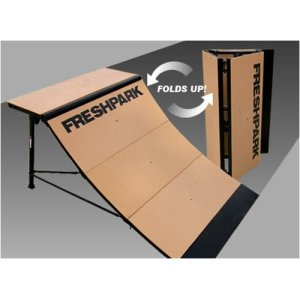 Freshpark Professional Folding Quarter Pipe